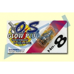 O.S. #8 Glow Plug HE50H07 (SOLD OUT)